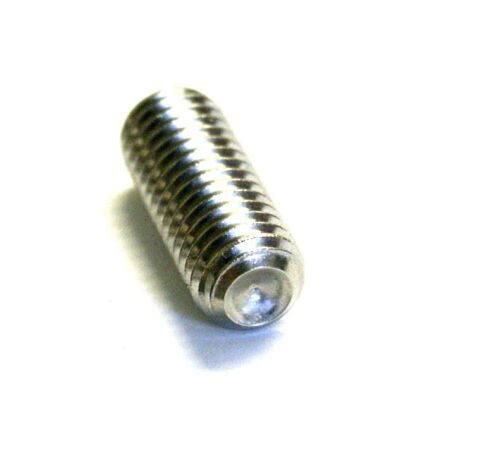 Cup Point A2 Stainless DIN 916  10PK Allen Key Grub Screw M10 x12 Socket Set