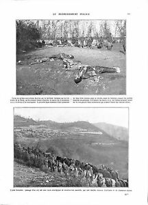 WWI-Italia-Front-Italy-Army-Piave-River-Artillery-Alpini-Alpins-ILLUSTRATION