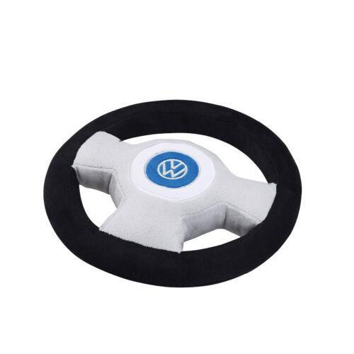 incl avec klaxon logo brodés Volkswagen peluche volant de velboa