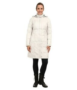 NWT-North-Face-Women-039-s-Metropolis-550-Down-Parka-Jacket-Ivory-White