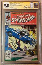 Amazing Spider-man #306 CGC 9.8 SS Signed Stan Lee Todd Mcfarlane David...
