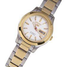 Seiko 5 Ladies SYMD90K1 Combination White Dial Automatic Watch