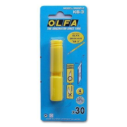 Olfa Ersatzklinge KB-3 30er Pack für AK-3 0,15€//Stück