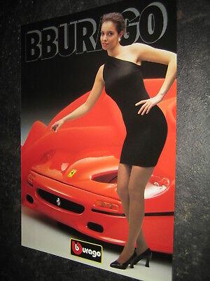(137) Bburago Burago News Catalogo Prospetto 1995 International Catalogue Brochure-mostra Il Titolo Originale Piacevole Nel Dopo-Gusto