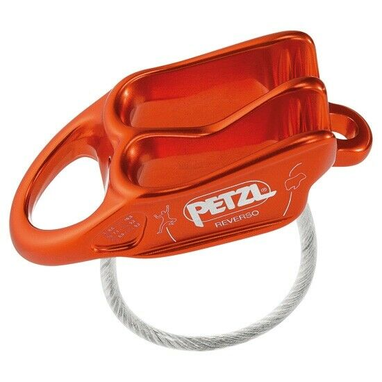 Petzl Reverso D017AA02  Climbing Gear Belay Devices & Descenders Belay Devices