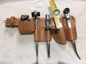 Echafaudage-De-Ceinture-en-cuir-avec-4-Pcs-Tool-Set-Royaume-Uni-De-Marque
