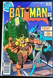 BATMAN-Issue-312-VF-CALENDAR-MAN-STORY-1979-DC-COMICS-Classic-TWO-FACE-CAMEO