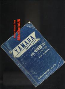 Yamaha-XS500-DOHC-1978-gt-Factory-Parts-List-Catalogue-Book-Manual-XS-500-BS60