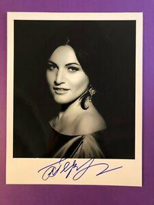 Hibla Gerzmava *Opera* 20x25cm Signiertes Foto Autogramm / Autograph