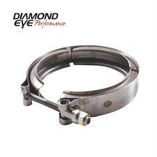 Diamond Eye VC400HX40 V-Band Clamp For Hx40 Turbo Direct Pipe