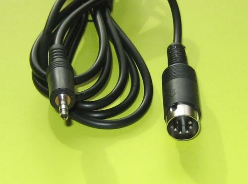 Custom Made Bang Olufsen DIN to ipod 3.5mm Gold Cable 3Meter L@@K Fast Delivery