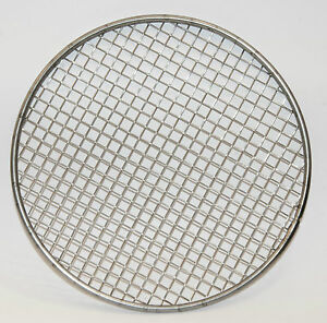 custom woven wire mesh filter disc circle stainless steel grill