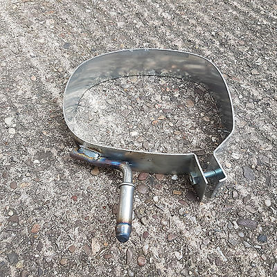 CITROEN DS3 1.4 PETROL REAR EXHAUST BOX SILENCER BODY BAND STRAP