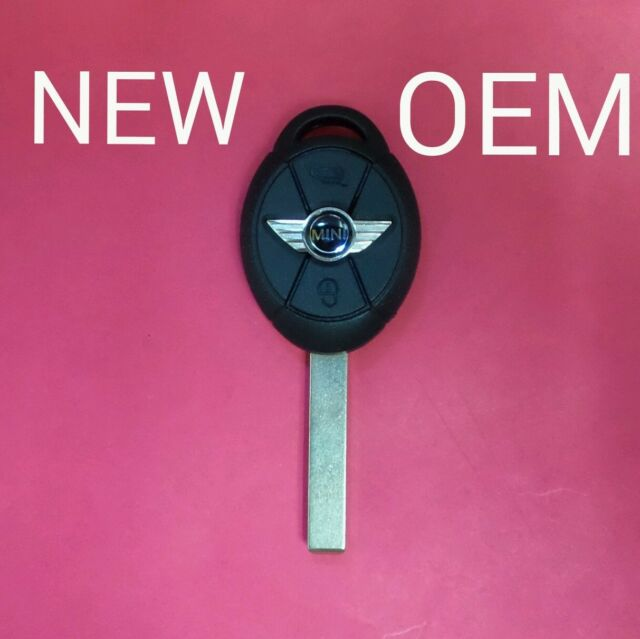 Oem Remote Head Key Keyless Entry Transmitter Cut Blade For Mini Cooper