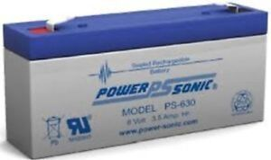 BATTERIES-FOR-RIGEL-304-309-MONITOR-6v3-5ah-2-EACH