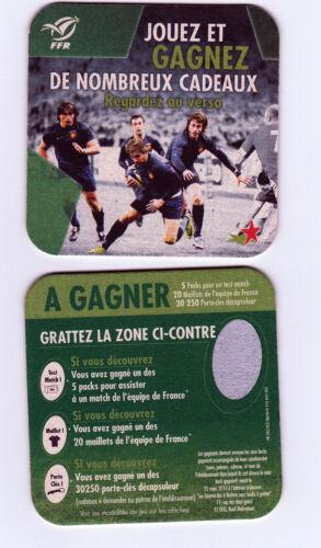 ★ HEINEKEN ★ RUGBY Sous bock coaster deckel #6 H-Cup 2010 -