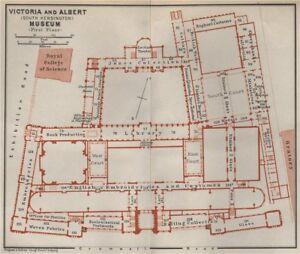 South Kensington London Map.Victoria Albert Museum First Floor Plan South Kensington London