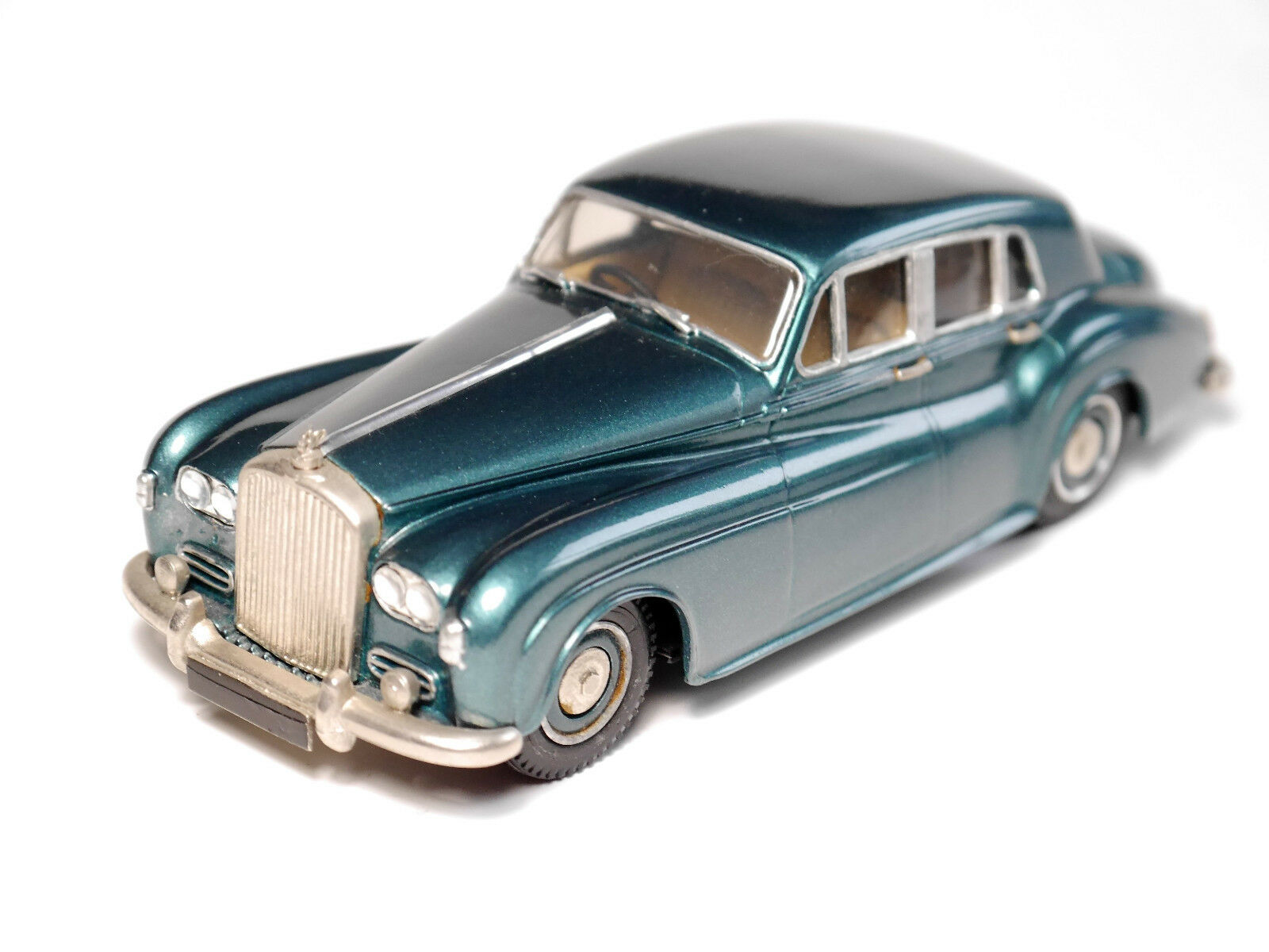 Bentley S III Saloon Petrol Metallic, à la main handmade  Western Models 1 43  coloris étonnants