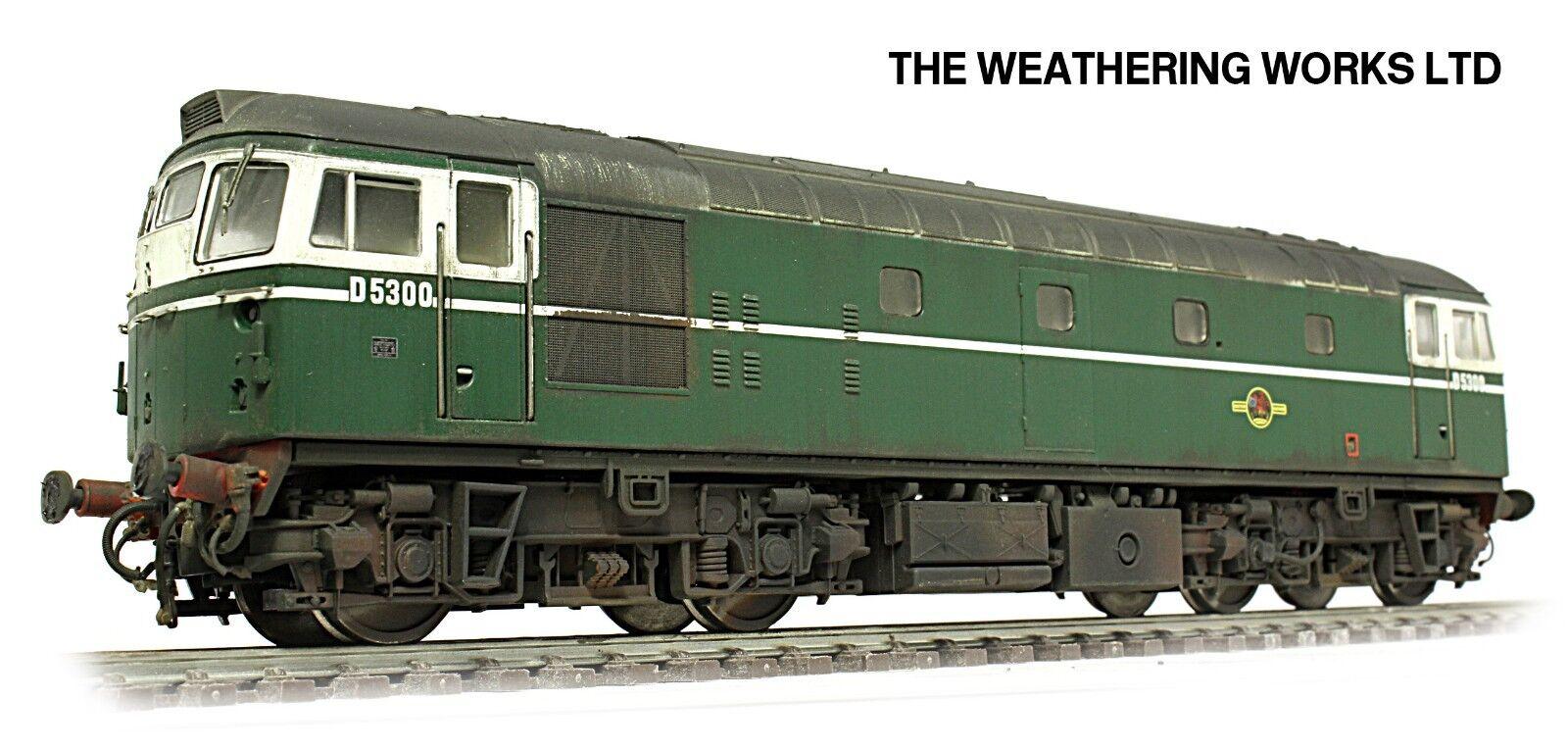 scatolaed Heljan BR verde classe 26 D5300 PRO WEATHErosso guarda DCC Ready