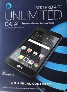 Details about Brand New LG Phoenix 3 AT&T Go phone FREE SHIPPING