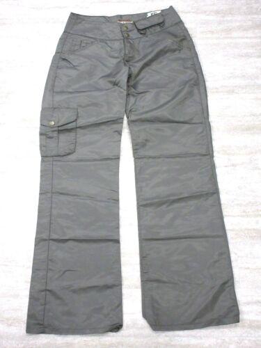 NEW Da-Nang Women/'s Casual Crop Pants Flowy Nylon JUNGL MAW513 SMALL S