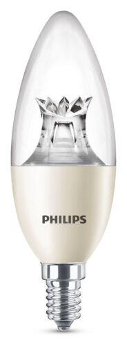 Philips LED B40 WarmGlow E14 Kerze dimmbar 8W 2200-2700K Klar wie 60W