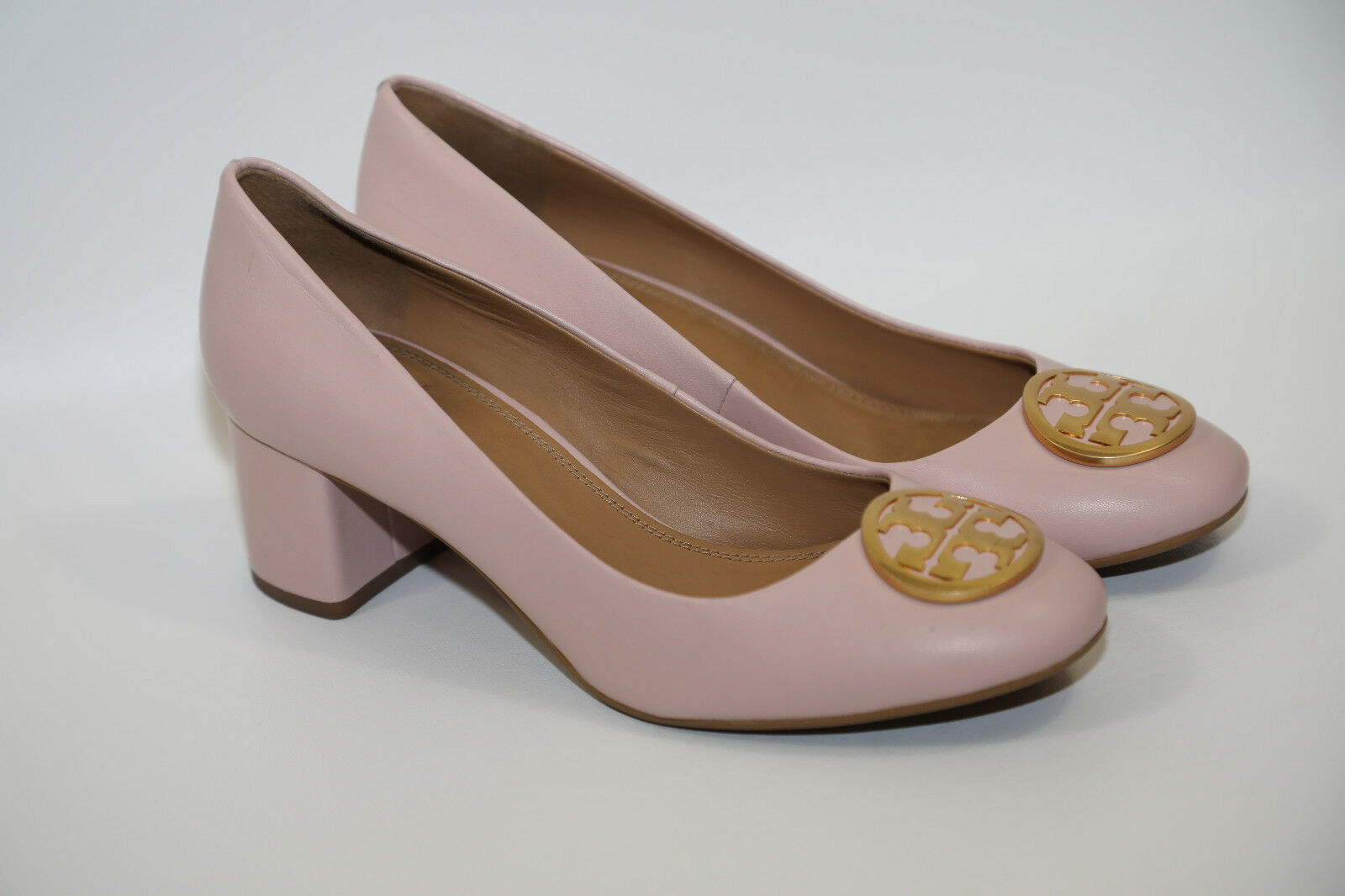 72 Tory Burch Chelsea Leather Pump shoes Size 8.5 M   278 retail