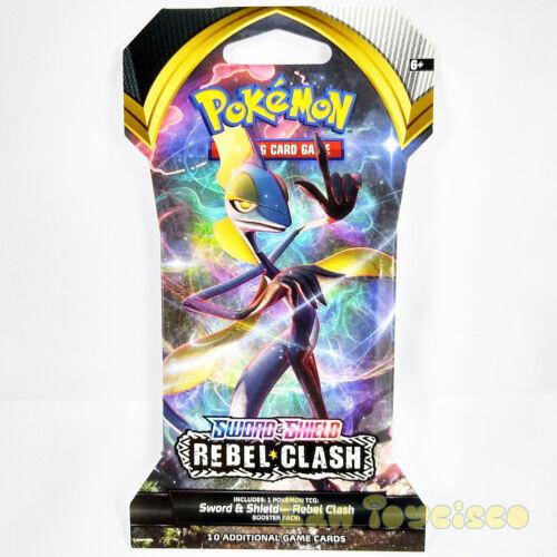 Pokemon TCG Sword Shield Rebel Clash 1 SINGLE Booster Pack 10 Random Cards