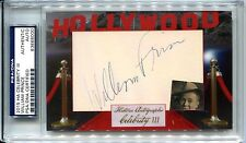 William Prince 2015 Historic Autographs Hollywood Celebrity Auto Cut PSA/DNA