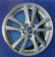 Lexus Wheel Rim 2006-2009 Is250 Is350 Silver Set Of 4 Replica Alloy 18
