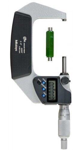 """Mitutoyo 293-332-30 Micrometer 2-3/""""//50.8-76.2mm IP65 Ratchet Stop SPC"""