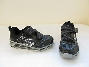 72353bfb03d2 Details about New Boy s Skechers Mega Flex Mega Blade 2.0 Athletic Shoes  95570L Black Slvr 17Q