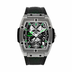 Hublot MP-06 Senna Tourbillon LE Manual Titanium Men Watch 906.NX.0129.VR