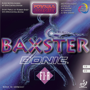Donic-Baxster-F1-a-Table-Tennis-and-Ping-Pong-Rubber-Choose-Color-and-Thickness