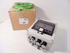 defa 701686 life boat electric central fuse box 230v ac 16a ip44 2-in  4-outputs | ebay  ebay
