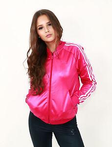 Uk Originals 6 8 Jacket Størrelse 12 Pink Shiny Track 14 Ny 652 Adidas 10 Blast Spqcwfdf0