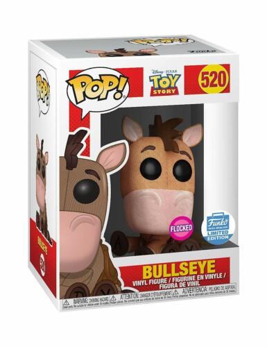 Funko Pop-Toy Story 4-Floqué Bullseye Protecteur