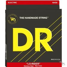 DR MLH-45 Lo-Rider Stainless Steel Medium Lite Electric Bass Strings 45-100