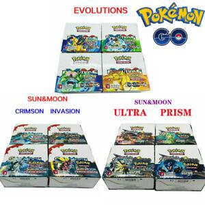 36-Packs-Pokemon-Cards-324pcs-Bundle-TCG-Booster-Box-English-Edition-Break-Point