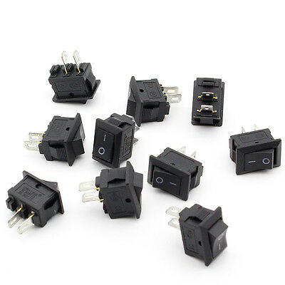10stk/set EIN / AUS Wippschalter Switch Mini Automotive For Auto/LKW/HouseUse