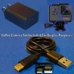 Wall Charger Power Suply Cord For GoPro Hero 5 6 7 8 Max HD Digital Video Camera