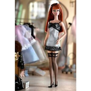 Silkstone Barbie Number 4 Lingerie Doll Still Wrapped