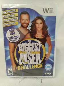 Biggest Loser Challenge (Nintendo Wii, 2010) BRAND NEW-Balance Board Compatible