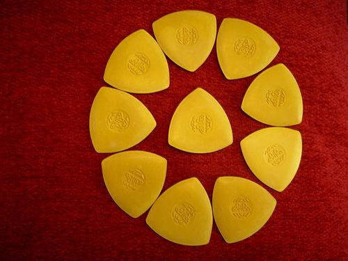 4 Cajas De 10 40 X Amarillo Confeccionistas sastres Chalks