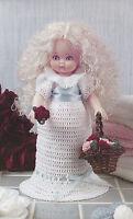 Crochet Pattern ~ AIR FRESHENER DOLL Dress ~ Instructions