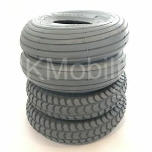 1-Set-of-4-Tyres-260x85-3-00-4-Grey-Mobility-Scooter-Tyre-300x4-2-Block-2-Rib