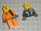 Pces Personnage LEGO AGENTS minifig parts / Set 8632 Mission 2: Swamp Raid