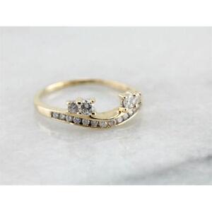 2-00-Ct-Round-Cut-Enhancer-Engagement-Wrap-Wedding-Ring-14K-Solid-Yellow-Gold