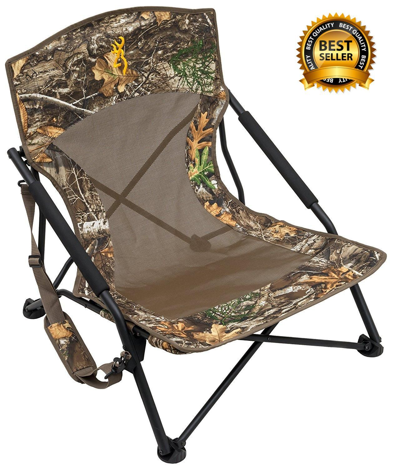 Folding Chair Outdoor Turkey Deer Hunting Camping Camouflage Stand Sit Chairs