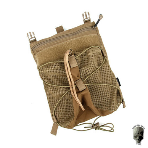 TMC Tactical Bungee Helmet Back Panel Hook for 420 Tactical Vest with Pouch Gear